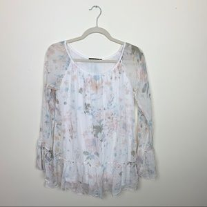 Alice Rinaldi Floral Blouse Made in Italy